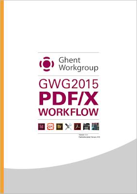 GWG2015 PDF/X workflow