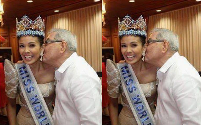 So whistling is bad? How about this lewd act of LP Leader Belmonte?