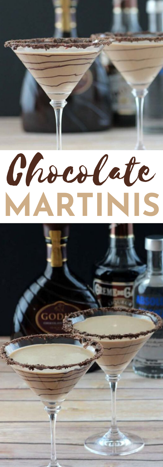 Chocolate Martini's #drinks #alcohol #cocktails #party #chocolate