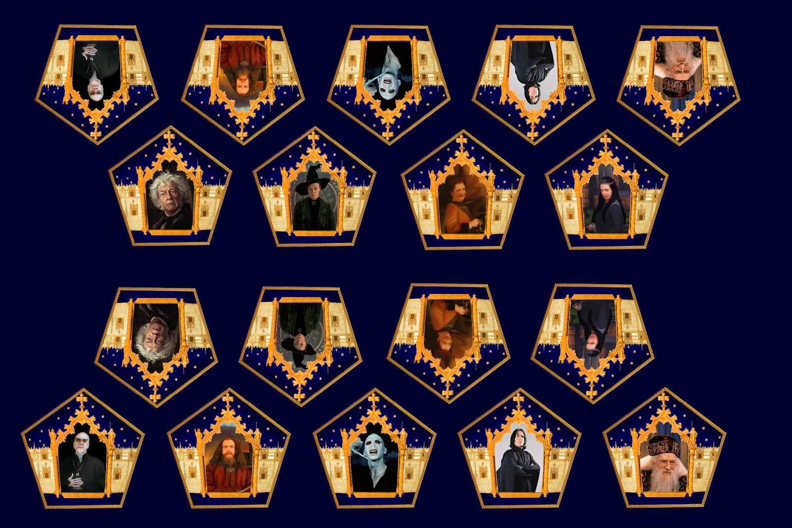 photo regarding Harry Potter Chocolate Frog Cards Printable identified as Filchs Office environment: Chocolate frog playing cards