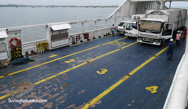 FastCat Ferry Bacolod-Iloilo - family trip - family travel - RORO- girls - Philippines - daughters - travelers - homeschooling - homeschooling in Bacolod- educational trip on board - vehicles tariff