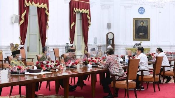 Hal-hal yang Disampaikan Amien Rais dkk Saat Bertemu Jokowi