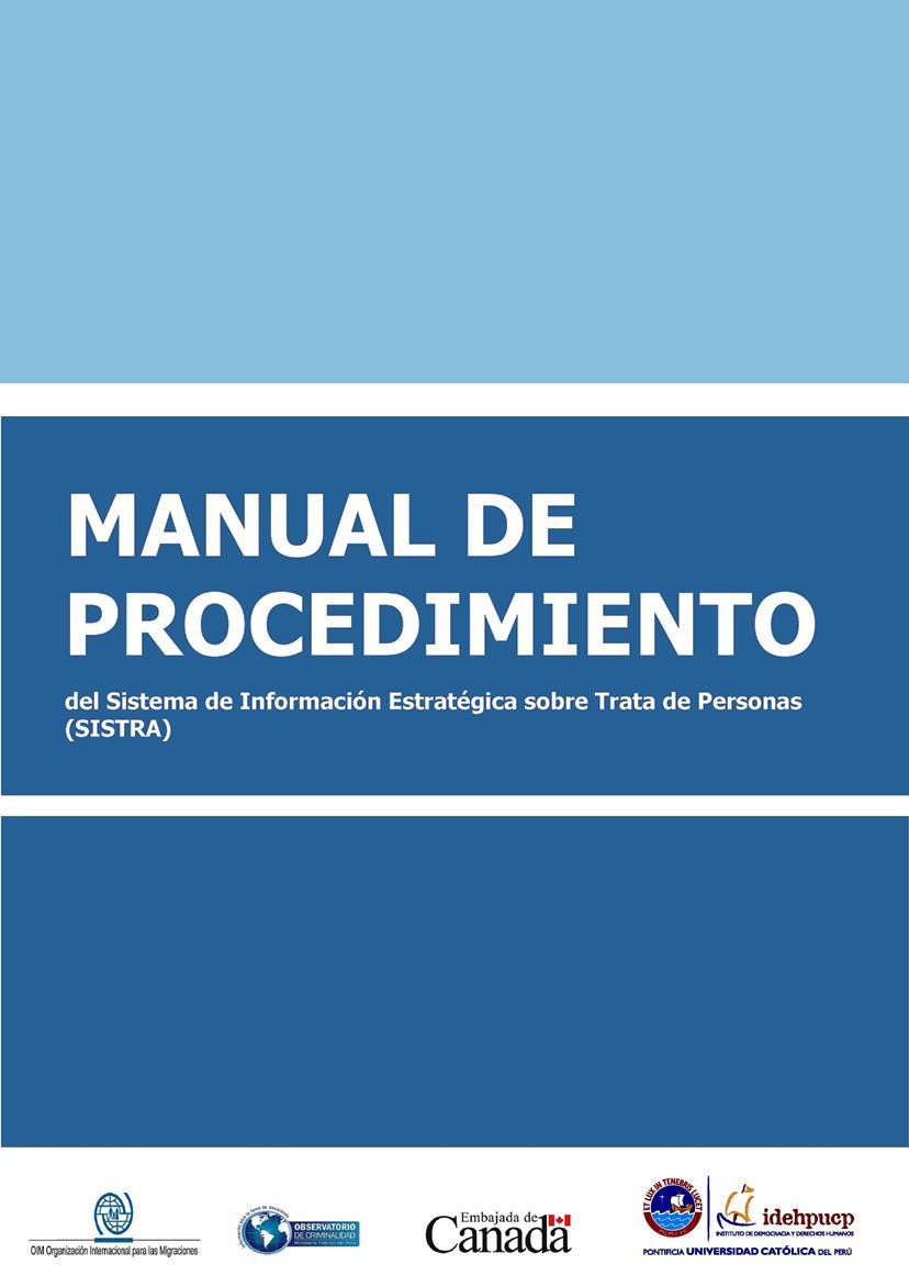 Manual de procedimiento del SISTRA