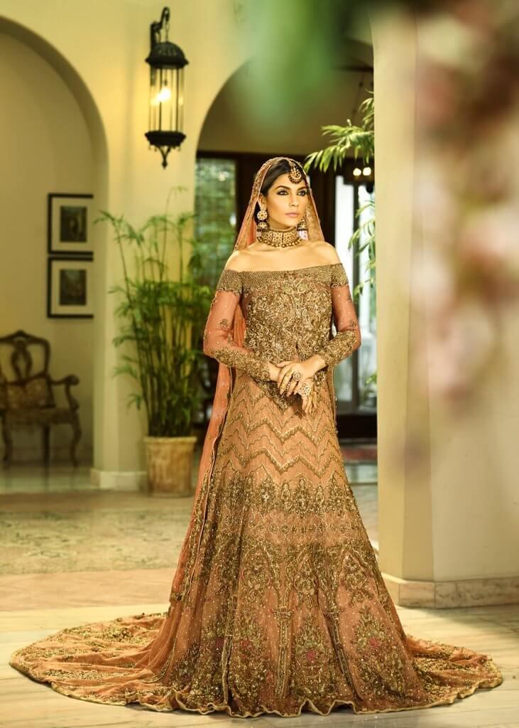 Shiza Hassan Modern Pakistani Bridal Dress
