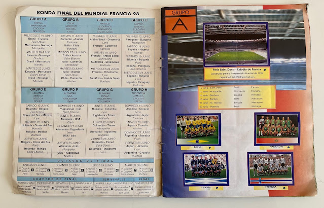 Figurine Girone A Francia '98