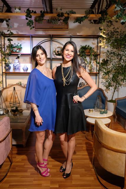 Sandra Gomes y Marianne Chapellin.