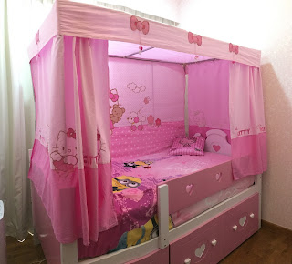 Bed & Canopy from Kids Haven