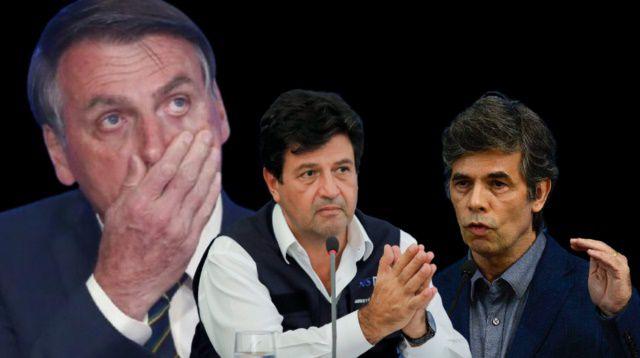Depoimentos de Mandetta e Teich na CPI da Covid deixa Bolsonaro em pane