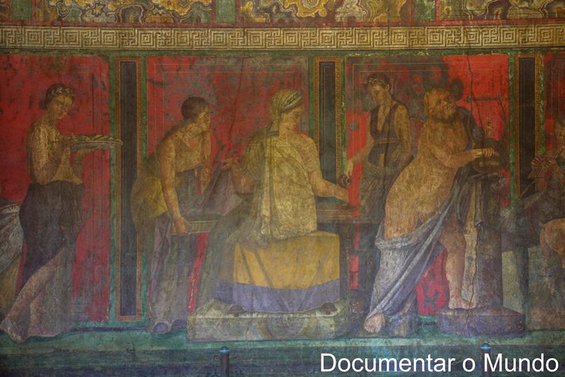 Villa dei Misteri, Pompeia, Itália
