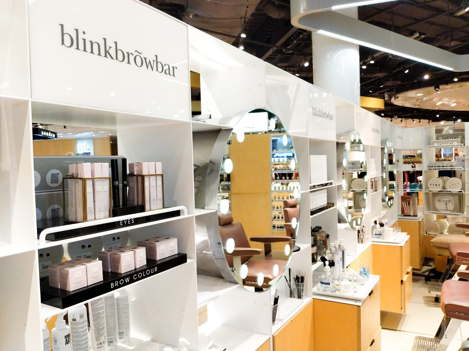 An image of Blink Brow Bar at Selfridges Birmingham Bullring