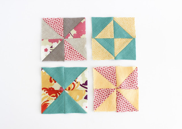 My First Quilt - A Study in Half Square Triangles | Shannon Fraser Designs | Modern Quilting |