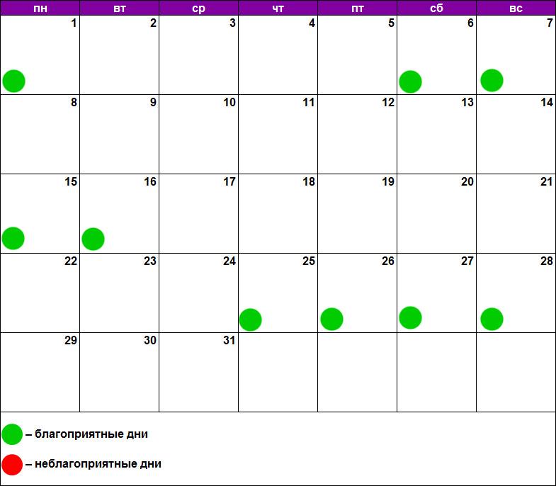Лунный календарь массажа июль 2019