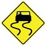 slippery when wet in spanish