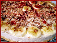 Banana cheesecake - by https://syntages-faghtwn.blogspot.gr