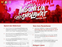 Cinta Indonesia Cinta Sholawat Festival Rebana Al Habsy dan Al Banjari Unnes Se Jawa Raya Tanun 2019