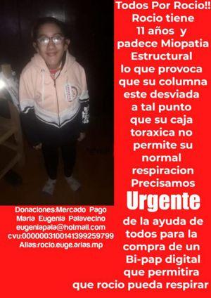 Solidaridad con Rocío