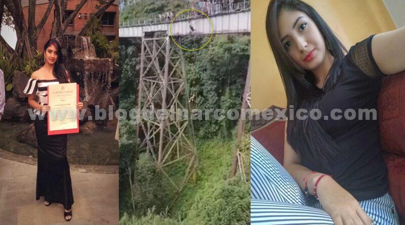 Yecenia Morales murió tras confundir instrucciones y aventarse de puente solo con el arnés puesto