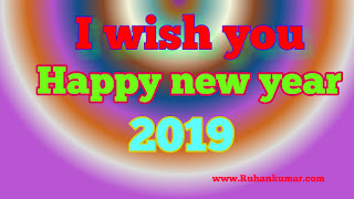 happy new year 2019  best shayari status in hindi picture images wishing