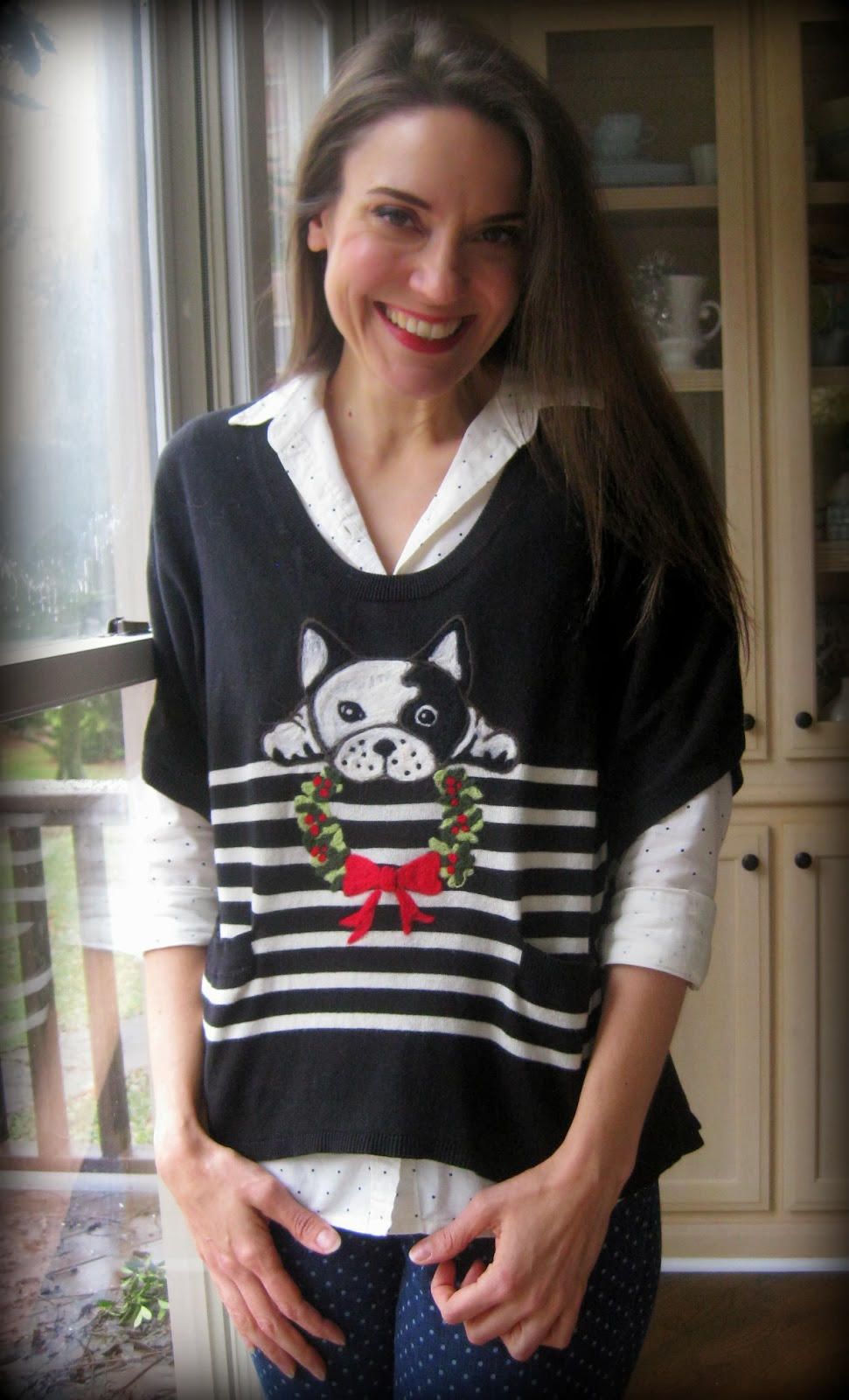 Cassie Stephens Diy A Felted Christmas Sweater And A