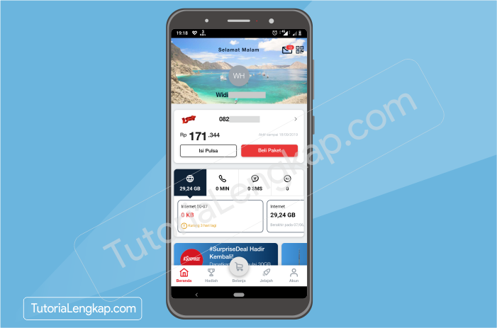 tutorialengkap 6 Cara Beli Pulsa Online dengan Harga Murah Melalui Aplikasi Linkaja di HP Android