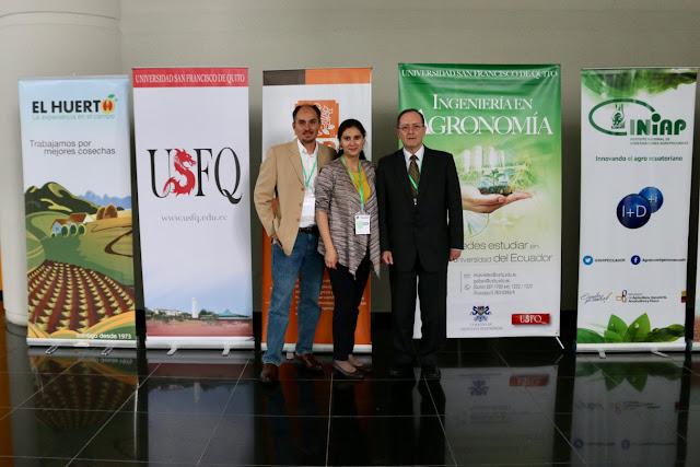 USFQ en el Primer Congreso de Ciencia y Tecnología Agropecuaria