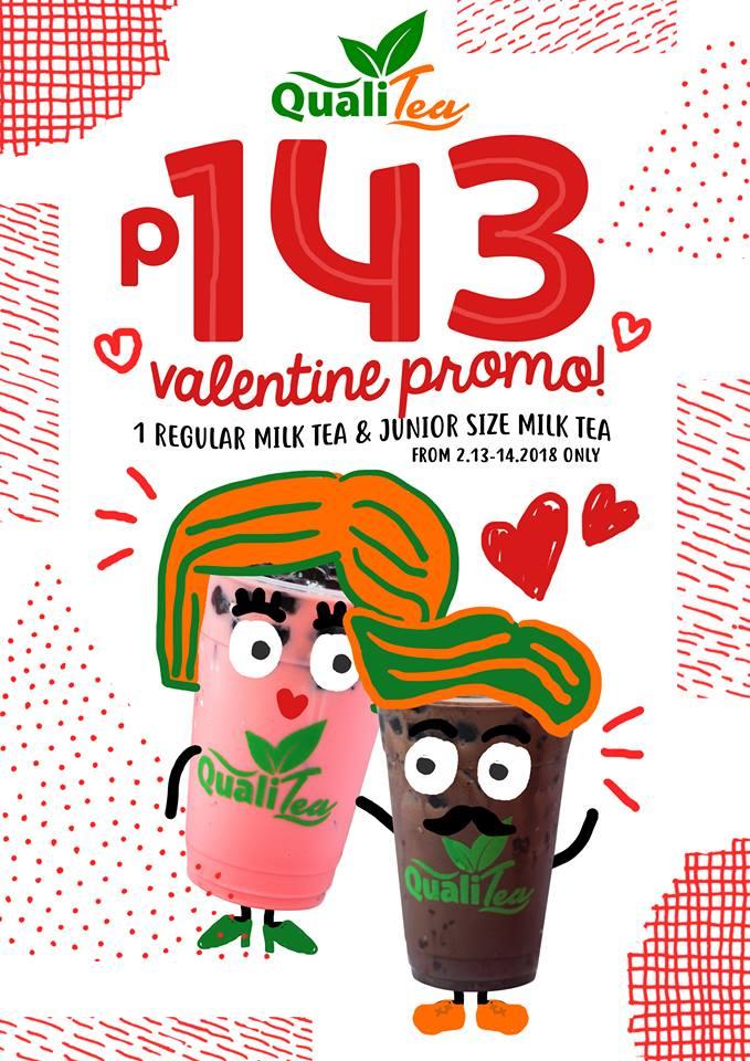 Bacolod restaurants- Qualitea - Valentine promo