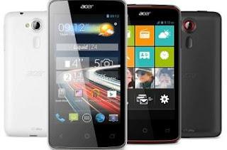 Harga HP Terbaru Acer Android Liquid Semua Tipe