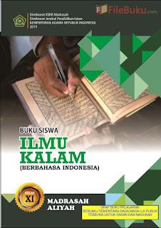 Buku Siswa Ilmu Kalam MA Kelas 11-XI Kurikulum 2013 Revisi 2019