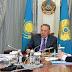 Nazarbayev, Uluslararası Türk Akademisi Başkanı Darhan Kıdırali'yi kabul etti
