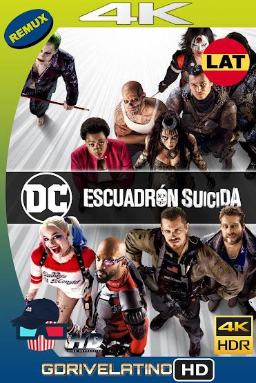 Escuadrón Suicida (2016) THEATRICAL BDRemux 4K HDR Latino-Ingles MKV