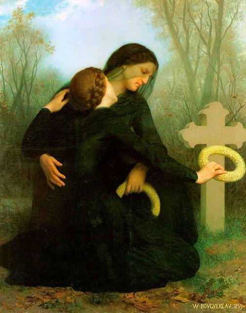 Адольф Вильям Бугро - День Всех Святых (1859)