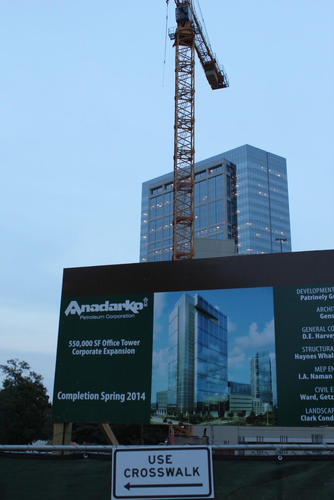 THE WOODLANDS | Anadarko II | 31 fl | Completed - SkyscraperCity