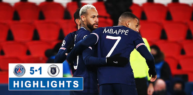 Paris Saint Germain vs Başakşehir F.K Highlights