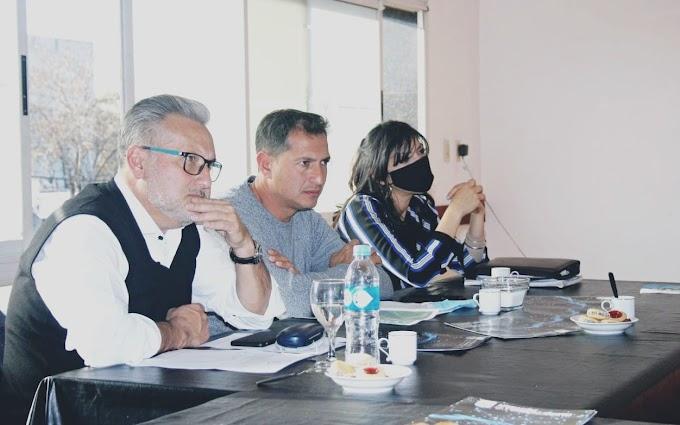 Murabito, Lewandowsky  se reunieron con Industriales y la ACI para proyectar conectividad en la ciudad
