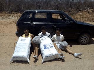 BEPI prende três elementos da Paraíba com mais de quarenta quilos de maconha no Sertão