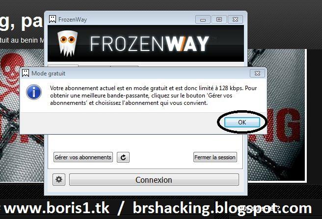 logiciel frozenway gratuit