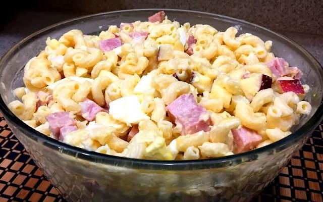 receta ensalada fria de coditos