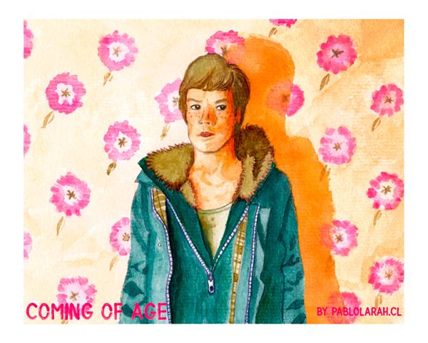 Coming of Age, Illustration, Pablo Lara H