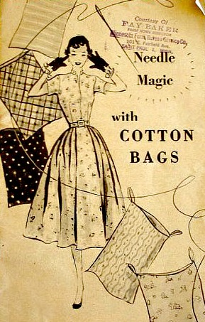The Country Farm Home Two Vintage Feed Sack Blouses For