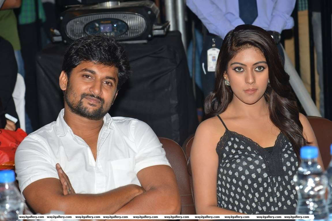 Nani and Anu Emmanuel promoted their Telugu film Majnu at Inorbit Mall
