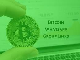 join Latest 40+ Bitcoin WhatsApp group link