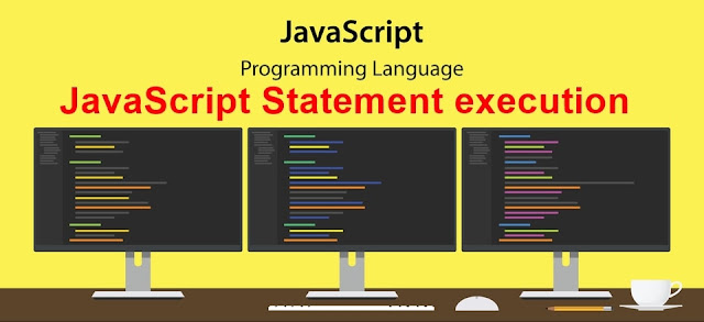 JavaScript Statement execution explain