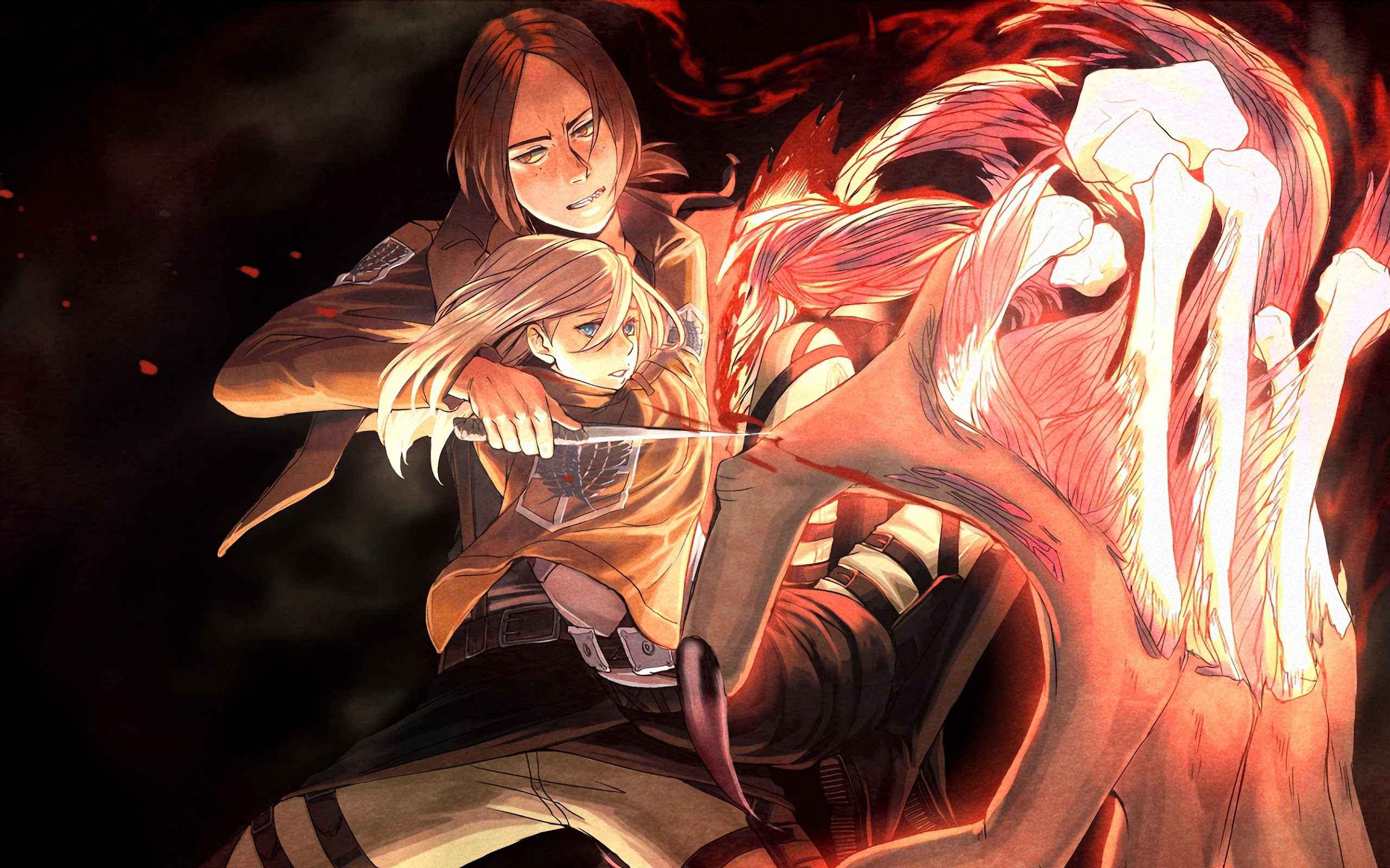 Ymir Krista Lenz Attack On Titan 4k Wallpaper 163