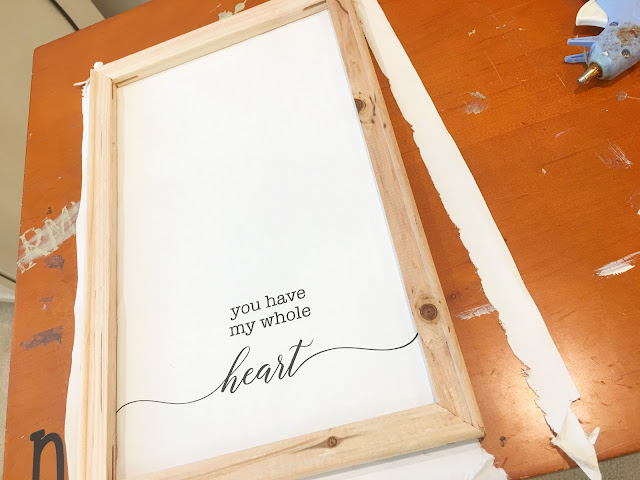 Reverse canvas, HTV Project, reverse canvas sign, reverse canvas idea, beginner tutorial