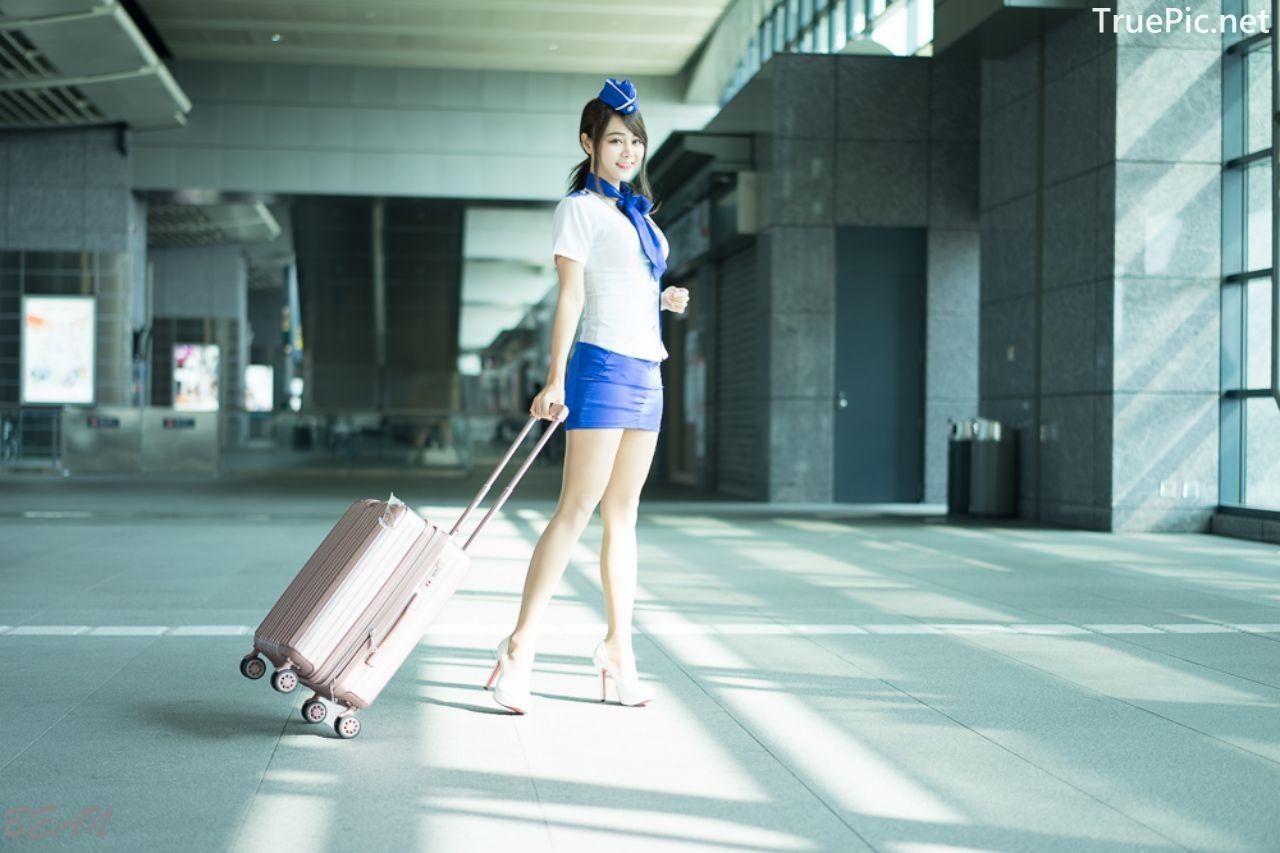 Image-Taiwan-Social-Celebrity-Sun-Hui-Tong-孫卉彤-Stewardess-High-speed-Railway-TruePic.net- Picture-8