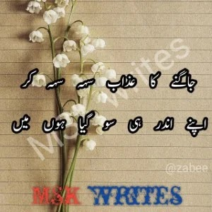 Heart Touching Poetry In Urdu