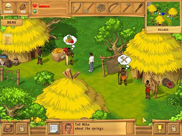 لعبة الجزيرة