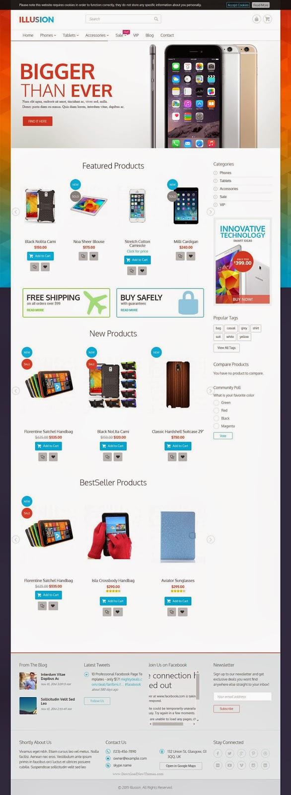 Premium Multipurpose Magento Theme 2015