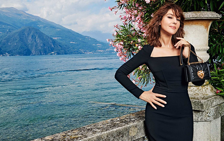 Monica Bellucci is the Face of Dolce & Gabbana SS21 Devotion Bag