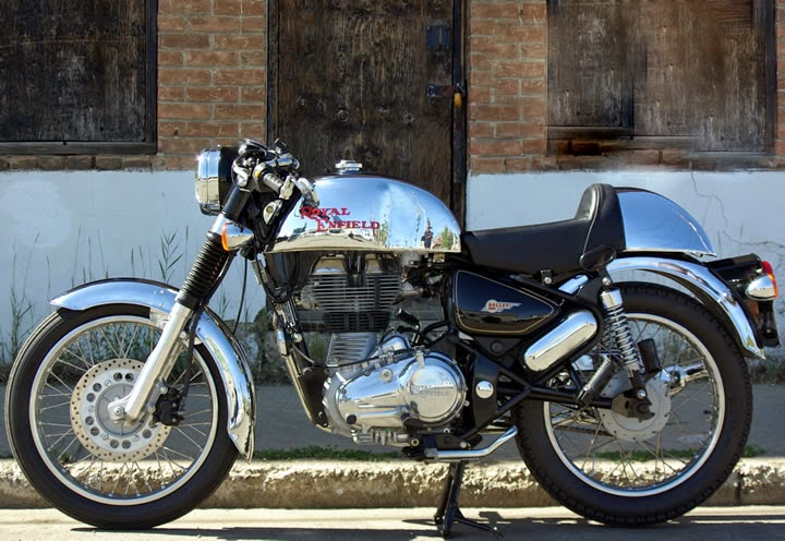 Royal Enfield Continental GT: All Chrome Cafe Racer by Royal Enfield